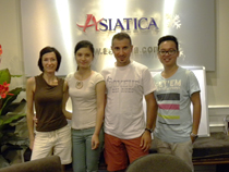 Asiatica Travel Recensioni - Testimonianze di Signore. Luca Cardone