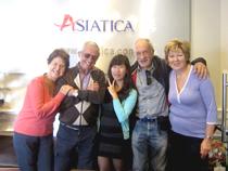 Asiatica Travel Recensioni - Testimonianze di Signora. Assunta Brizio