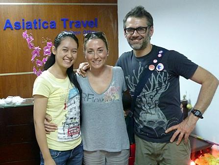 Asiatica Travel Recensioni - Testimonianze di Signora. Nicoletta Cutini