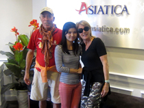Asiatica Travel Recensioni - Testimonianze di Signora. Gianna Bordi