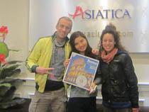 Asiatica Travel Recensioni - Testimonianze di Signora. Panaro Grazia