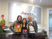 Asiatica Travel Recensioni - Testimonianze di Signora. Brambilla Barbara