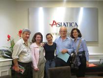 Asiatica Travel Recensioni - Testimonianze di Signora. Giuseppina Ragni