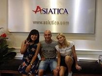 Asiatica Travel Recensioni - Testimonianze di Signore. Valeria Reverberi