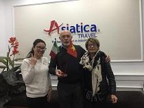 Asiatica Travel Recensioni - Testimonianze di Signore. Ugo Bazzotti