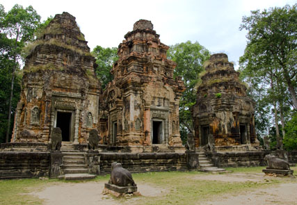 Mystery Angkor Temples