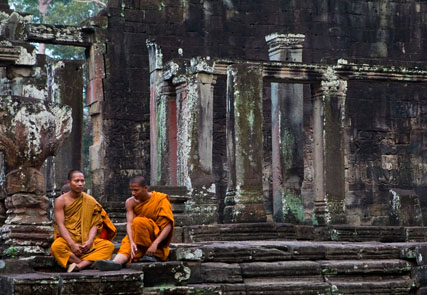 The essence of Angkor