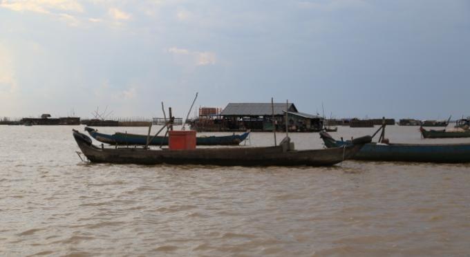 Auf dem Tonlé Sap See