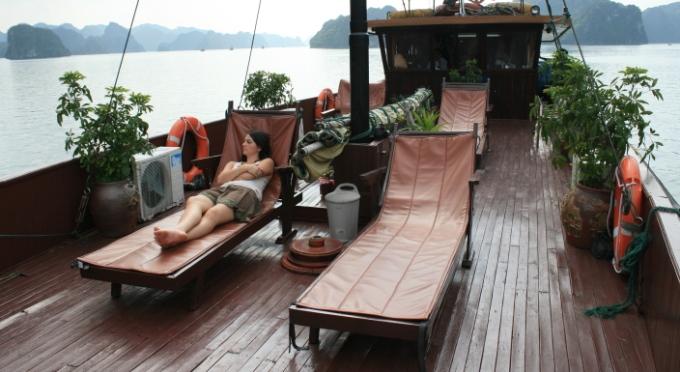 Kreuzfahrt in der Halong-Bucht - Weltnaturerbe des Vietnams