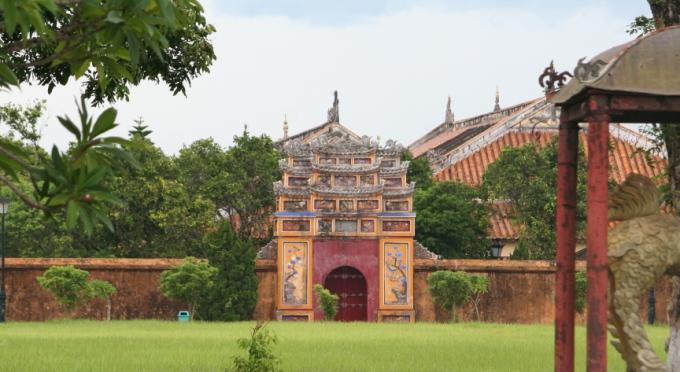 Zitadelle in der kaiserlichen Stadt Hue