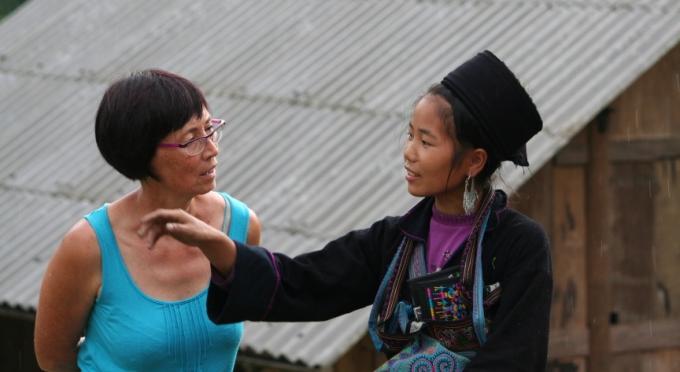 Ethnische Minderheit in Bac Ha