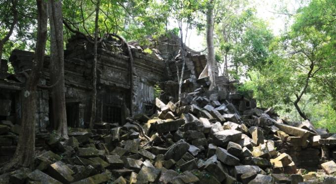 Ruine von der Khmer Kultur