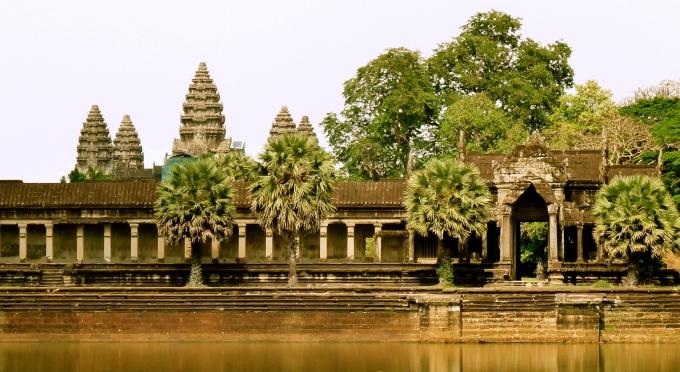 Angkor Wat Tempelanlage - Nationalsymbol von Kambodscha