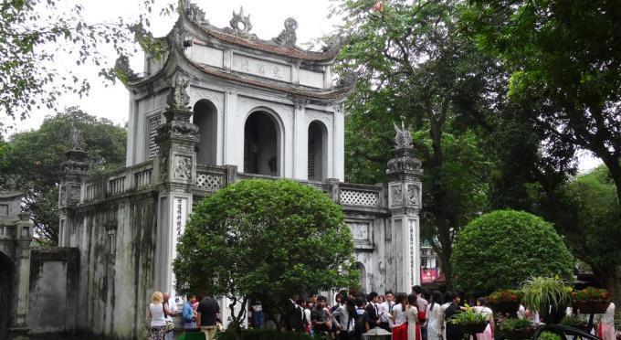 Literaturtempel in Hanoi
