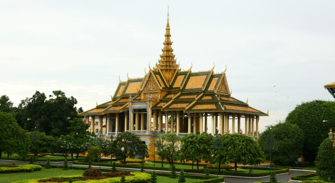 Silberpagode in Phnome Penh