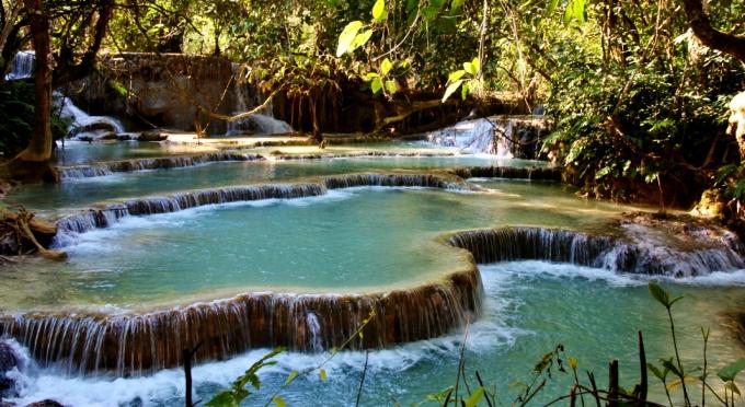 Kuangsi Wasserfall