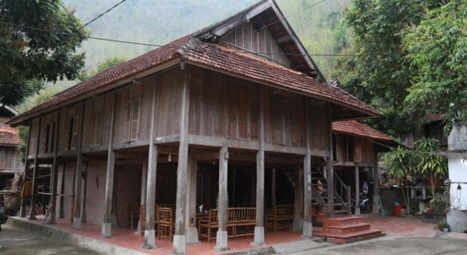 Traditionelles Stelzenhaus in Mai Chau
