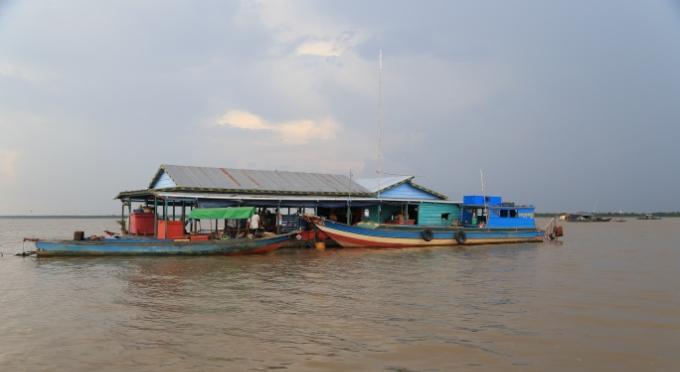 Tonlé Sap See - Der wichtige See in Kambodscha