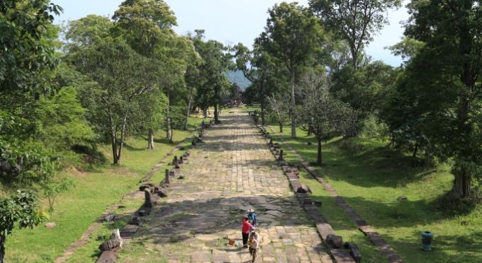 Tempel in Kampong Thom, Kambodscha
