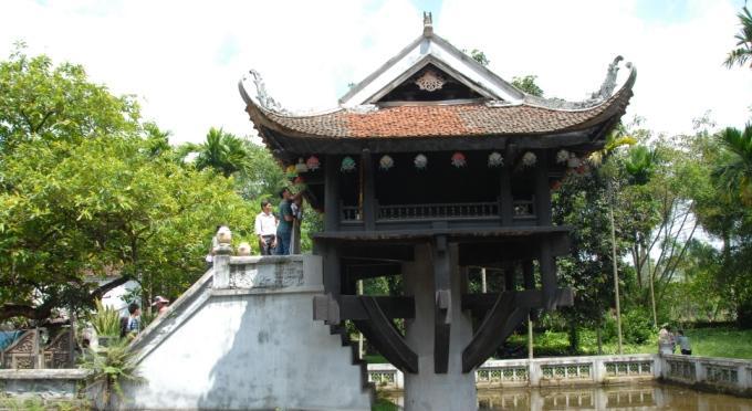 Einsäulenpagode in der Hauptstadt Hanoi