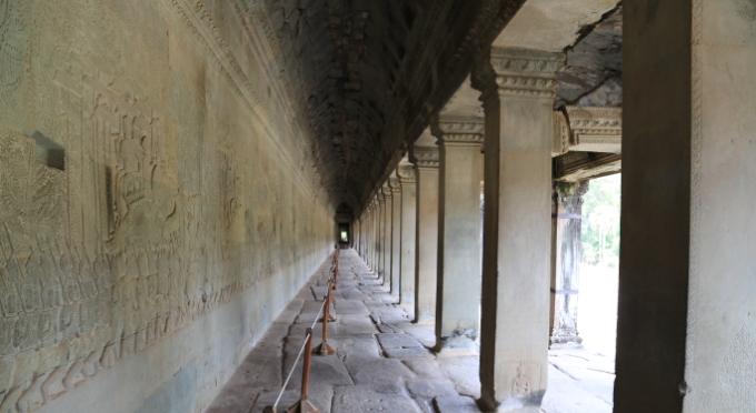 Innen Angkor Tempelanlage