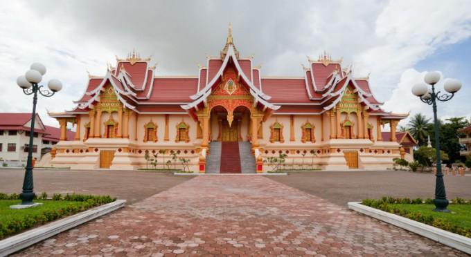Vientiane - das Hauptstadt von Laos