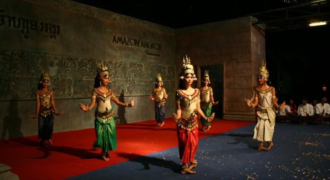 Apsara Tanzaufführung