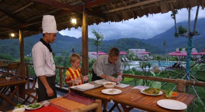 Kochkurs im Mai Chau Ecolodge