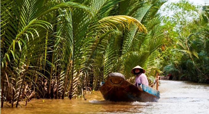 Mekong Delta die Reiskammer Vietnams und Leben mit dem Fluss