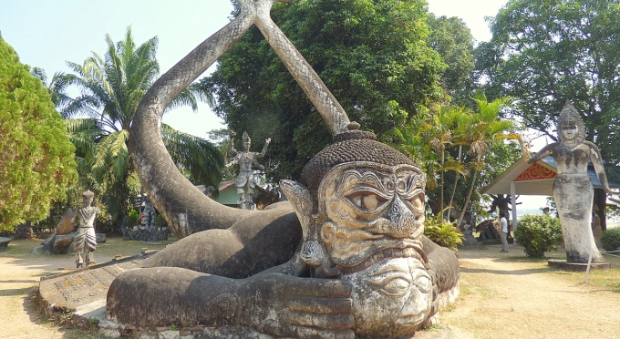 Unterwegs durch Laos nach Vietnam