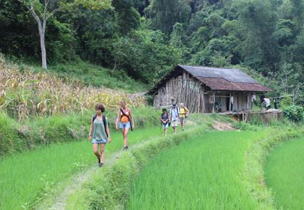 Randonnée au pays des Thai blancs