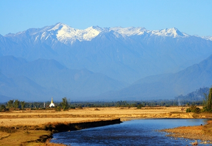 Foothills of Himalaya