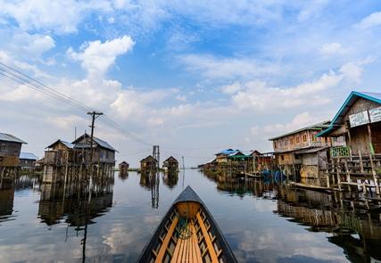Un'occhiata in Birmania