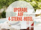 Kostenloses Upgrade auf 4-Sterne-Hotels
